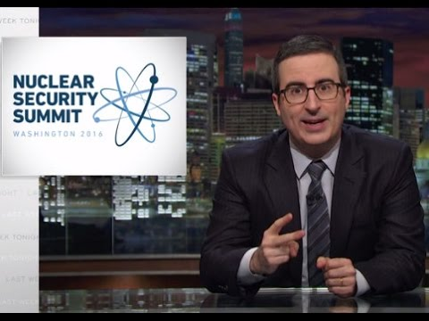 John Oliver Goes Nuclear On Donald Trump's Birdbrained Nuke Policies