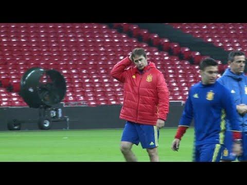 Spain sacks coach Lopetegui on eve of World Cup