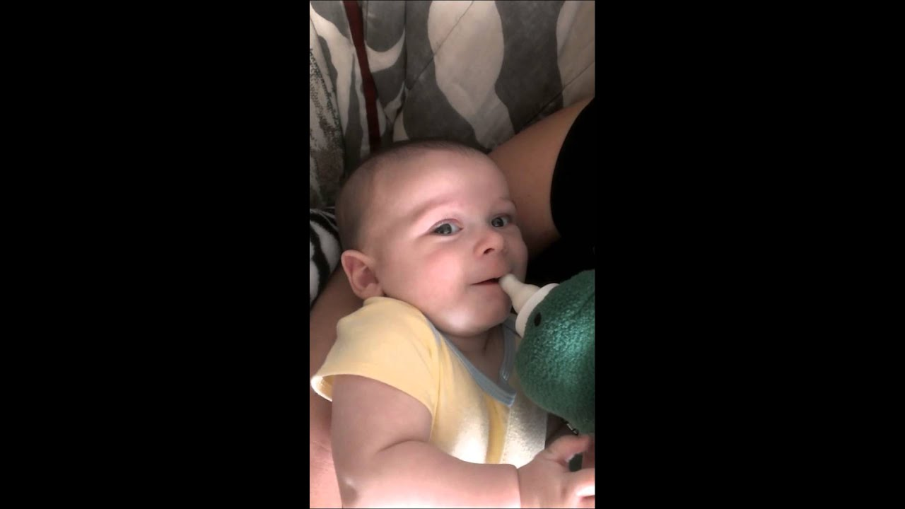 Cute 3 Month Old Baby Saying I Love You Youtube