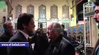 الصريطي وعلي الحجار وأشرف عبد الغفور والشرقاوي يصلون عزاء فيروز