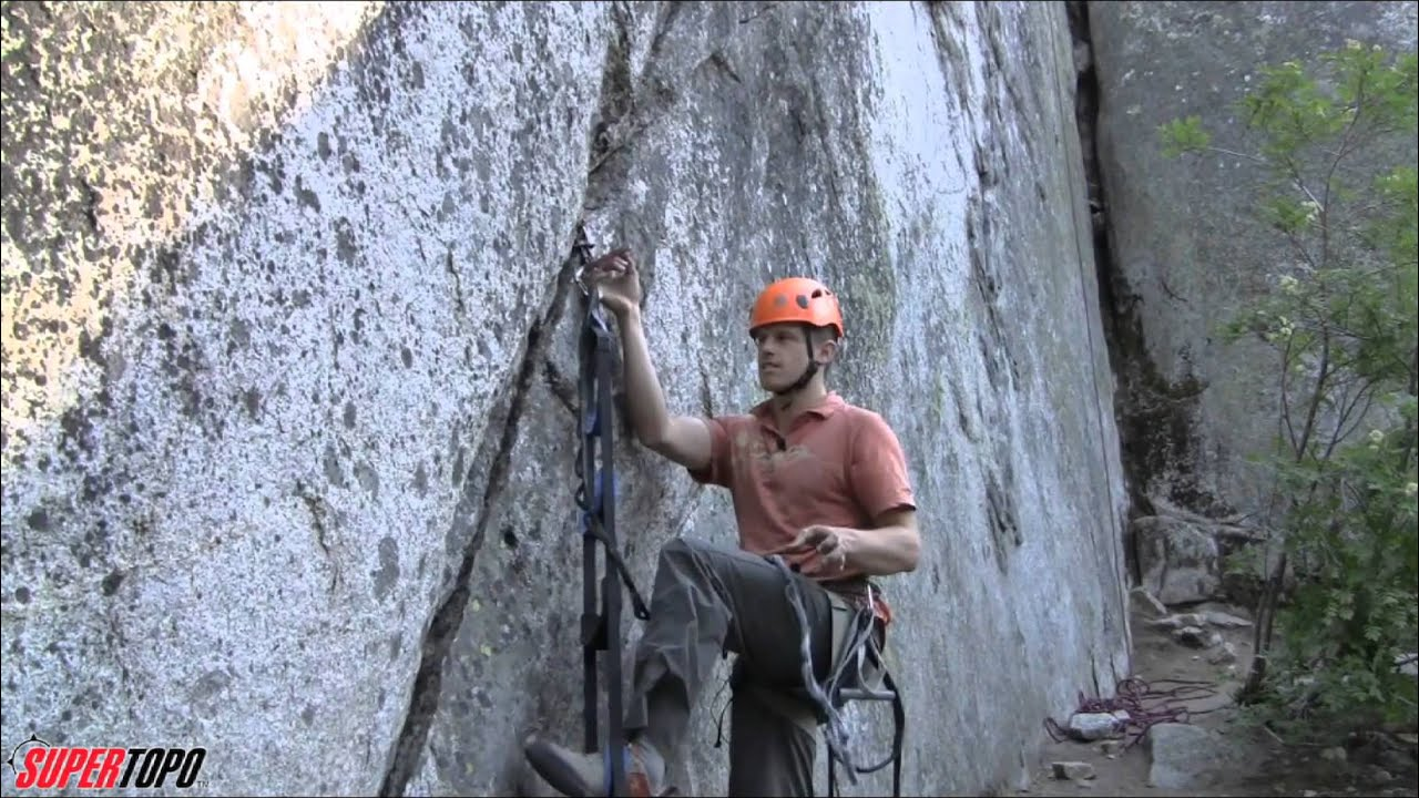 Aid Climbing leading on steep terrain - How To Big Wall Climb