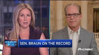 Issues in farming go much deeper than trade tensions, says Senator Mike Braun