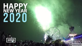 Happy New Year Manila welcomes in 2020 with spectacular FIREWORKS at Mall of Asia Short Version