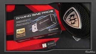 Sharkoon Gaming DAC Pro S - Układ dźwiękowy ze wzmacniaczem słuchawkowym