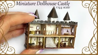Dollhouse for Dolls; 1:144 scale Castle Tutorial