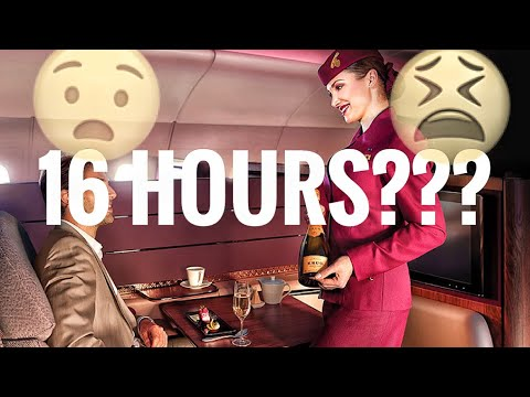 What does a cabin crew during an ultra long-haul flight? (Qatar Airways)