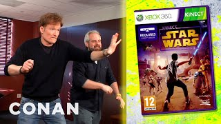 "Clueless Gamer: Conan Reviews ""Kinect Star Wars"" - CONAN on TBS"