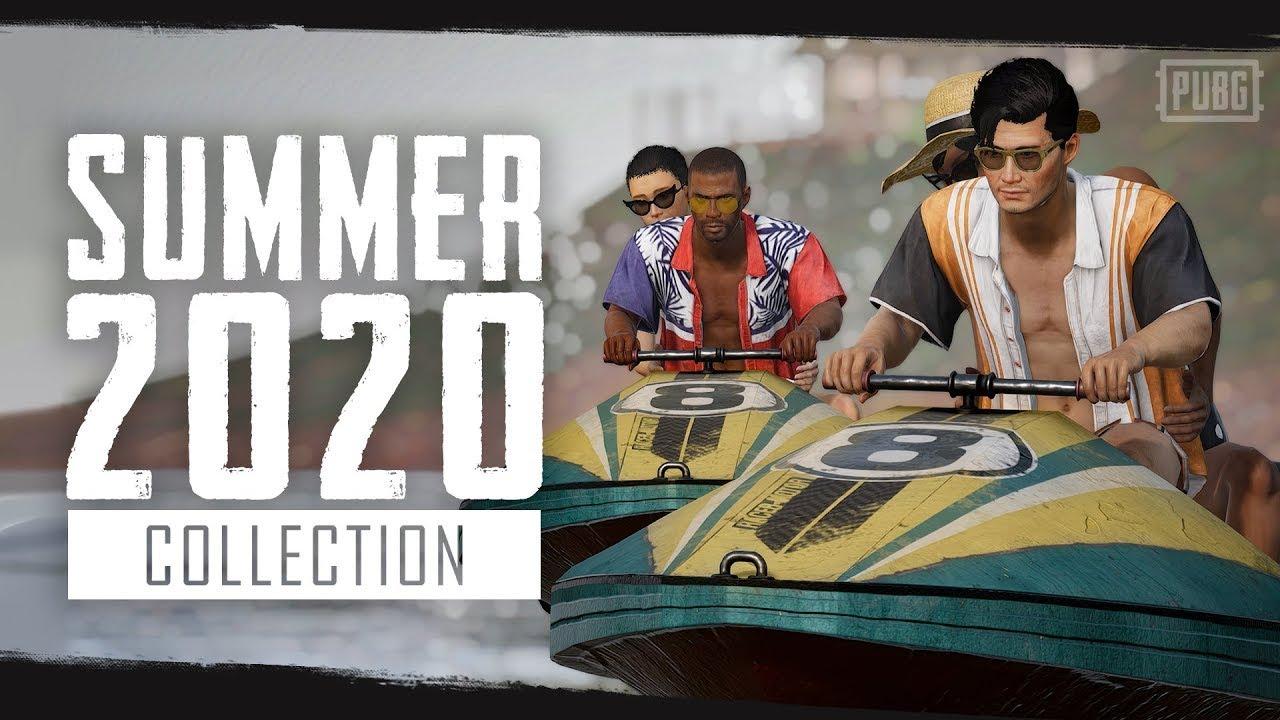 [카카오 배틀그라운드] 시즌8: 2020 여름 신상 컬렉션