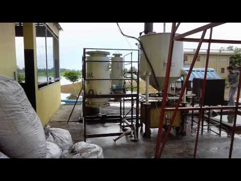 Rural electrification through a biomass powered mini grid by IED