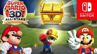 Super Mario 3D All-Stars - Full Game Walkthrough 24/7 Hour Stream