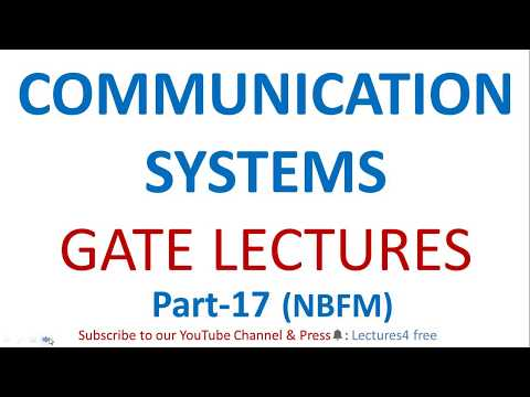 Communication Systems Part-17 (NBFM) || GATE Lectures Of ECE