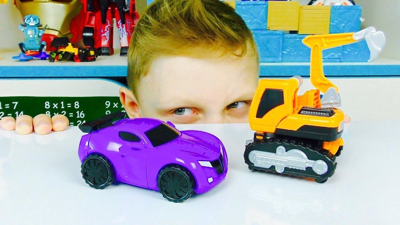 ТОБОТЫ игрушки из Мультфильма про Машинки Трансформеры Для Мальчиков