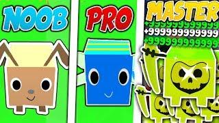 NOOB VS PRO VS MASTER - ROBLOX PET SIMULATOR VERSION!