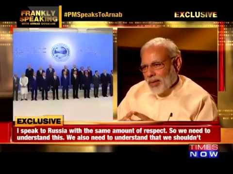 MODi's reply on Whose side INDIA shud Be - AmericA or RussiA