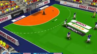 Handball-Simulator European Tournament 2010 Gameplay
