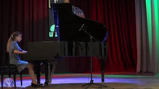 IV міжнародний конкурс юних піаністів ім. В. Барвінського старша вікова група II тур 1 частина