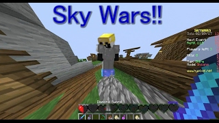 Death Lord Gaming Minecraft Sky wars for 30 MINS!!