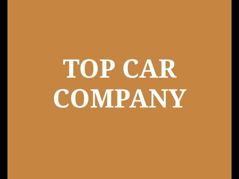 Top 10 Car Company in India 2020 | List of Best Car Manufacturing Companies