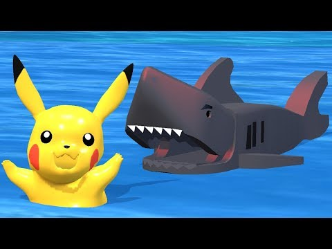 POKEMON PIKACHU   Shark Attack
