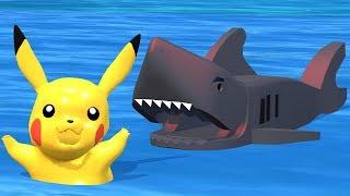 POKEMON PIKACHU   Shark Attack