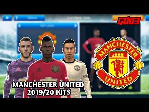 Manchester United 2019/20 Kits • Dream League Soccer 2019 • GamerDude03