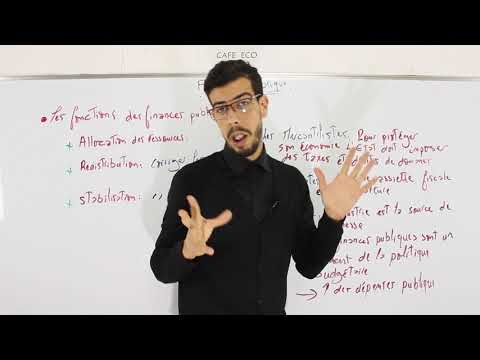 CAFE ECO : Finances Publiques S4 #EP01 ''Introduction''