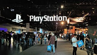 Playstation Experience 2017 PSX 2017 with Techno Dad Part 1