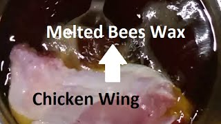 Deep Frying In Bees Wax