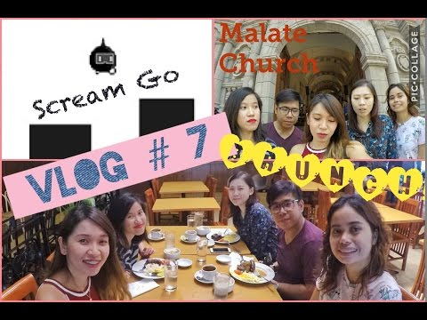 VLOG #7: Malate Church | Brunch | H&M and Miniso Shopping | SCREAM GO!