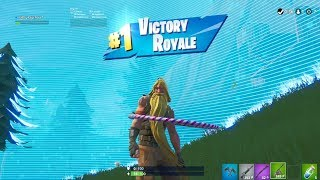 "FORTNITE First Win with ""BUNKER JONESY"" SKIN (""BEARDED JONESY Showcase"" PASE DE BATALLA DE TEMPORADA 9"