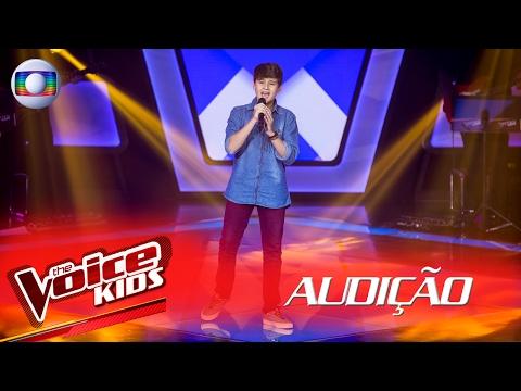 Lucas Vasconcelos canta 'All Star' na Audição –  The Voice Kids Brasil | 2ª Temporada