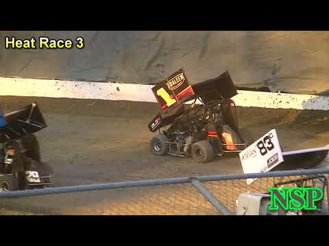 July 14, 2017 Clay Cup Nationals 600 Mini Sprints Heat Races 1, 2, 3, 4, 5 & 6 Deming Speedway