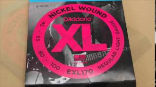 D'addario Bass String EXL170