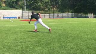 Antonelli Baseball Infield Workout