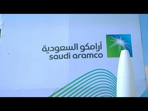 Aramco garante 23,07 mil milhões de euros em entrada em bolsa