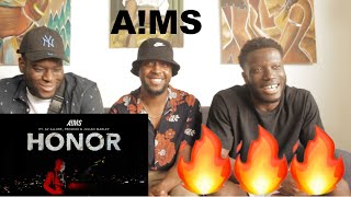 Download A!MS - HONOR ft. AV Allure, Projexx, & Julian Marley - (Official Music Video) REACTION