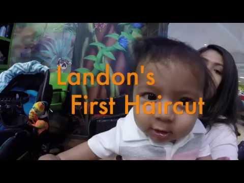 Landon's 1st Haircut