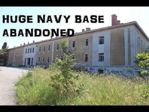 Abandoned MASSIVE NAVY BASE COMPLEX (Croatia)