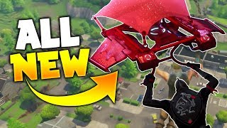 NEW SECRET GLIDER! - Buying The All Red Glider on Fortnite Battle Royale!