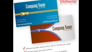 Cheap Business Cards Printing at 55Printing.com Free Design Proof and Free Online Designer