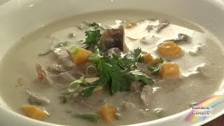 "Coconut Milk Soup Recipe - Thai Inspired ""if I Had A Chicken"" Macleod"