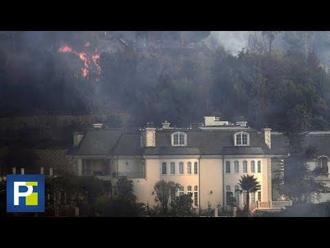 Las opulentas mansiones de Bel-Air, reducidas a cenizas por los incendios de California