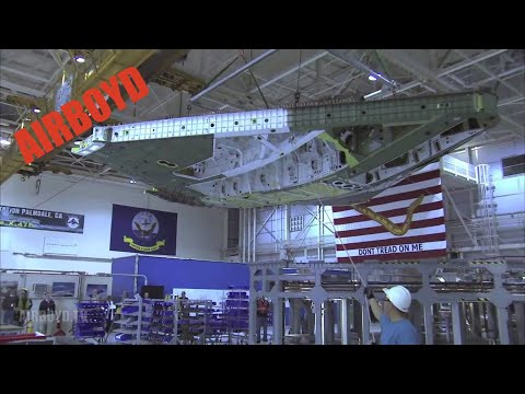 Northrop X-47B Assembly And Testing