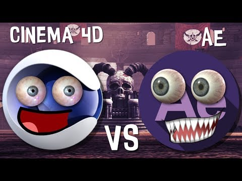 After Effects против Cinema 4D
