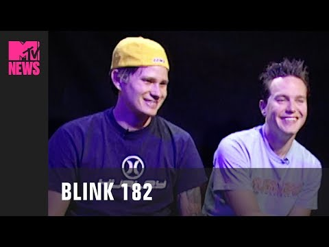 blink-182 on Messing Around on Stage & Their Controversial Lyrics (2001)    #TBMTV