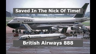 The 747 That Flew Through A Forest And Survived! | British Airways 888