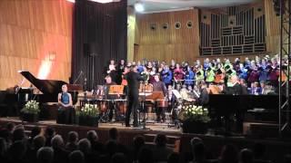 """Koncert """"African Sanctus"""" Davida Fanshawe w Filharmoni Szczecińskiej."""