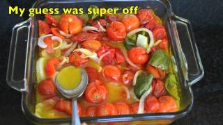 Garden To Chopstick: Chilled Roasted Cherry Tomato Soup