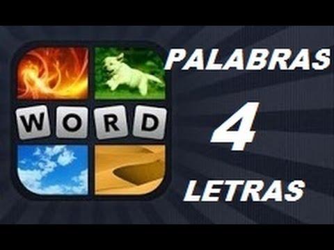 Soluciones de 4 Letras - 4 Fotos 1 Palabra. Ver descripción! Android, iPhone, iOS