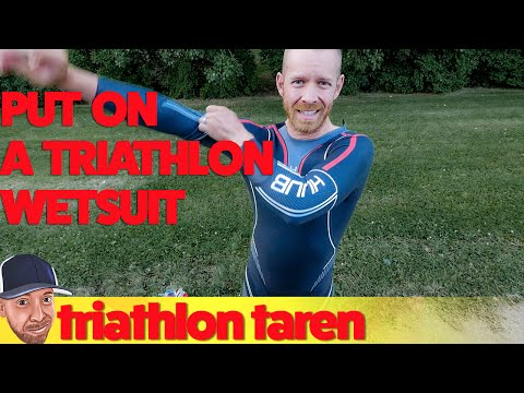 How To Put On A Triathlon Wetsuit Properly